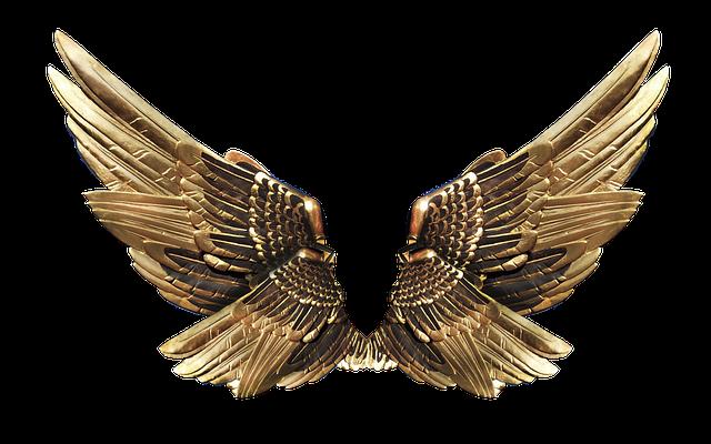 biżuteria skrzydła anioła