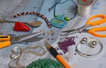 wykonanie bransoletki na szydełku